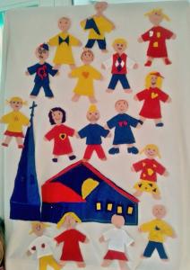 Altartuch Kindergottesdienst Telgte